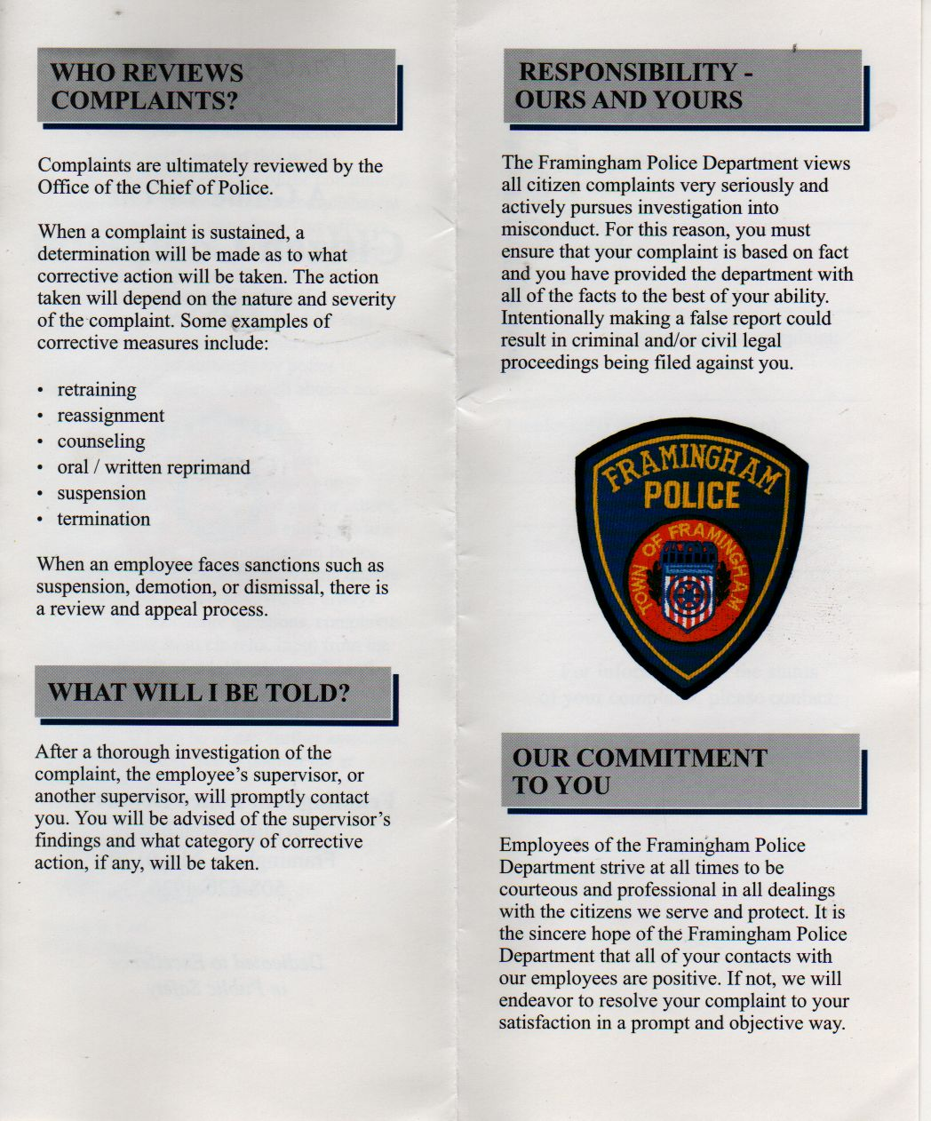 police complaint procedure The provincial office of the police complaint commissioner  vancouver police policy and procedure manual (pdf) contact.